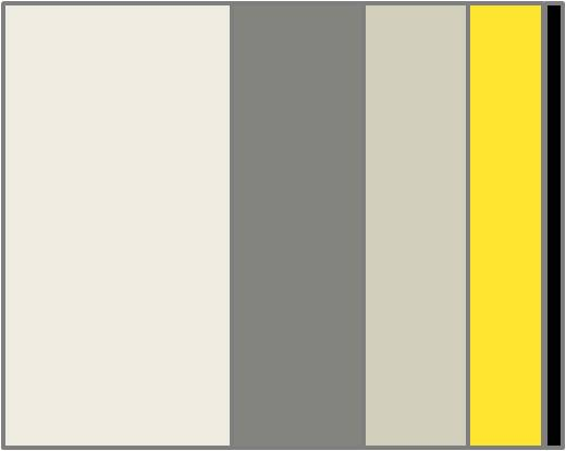 Grey Yellow The Perfect Combination Anita Brown 3d