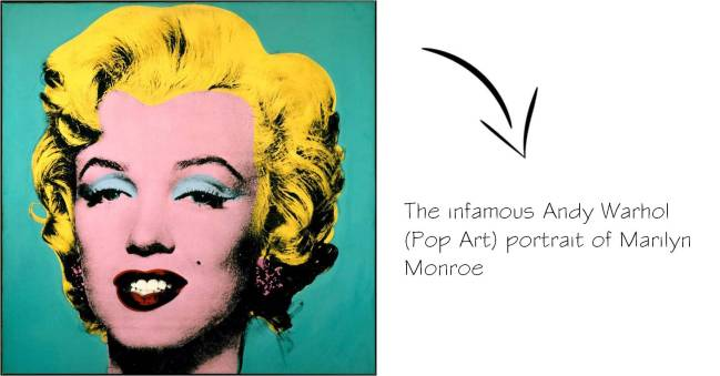 Andy Warhol Marilyn Monroe Pop Art