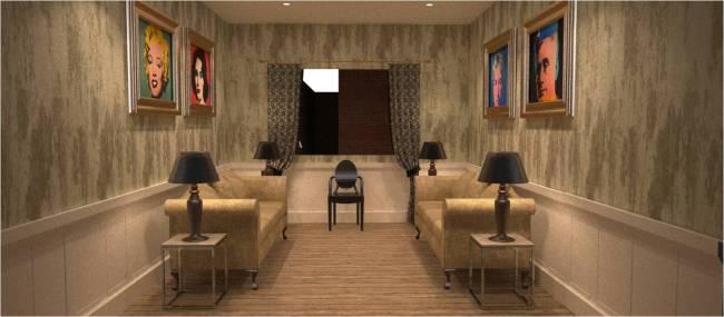 Georgian Inspired Staff Breakout Room