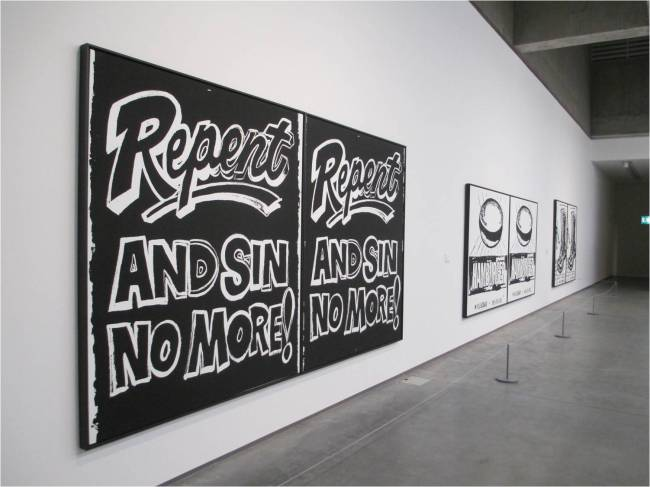 Andy Warhol Repent!