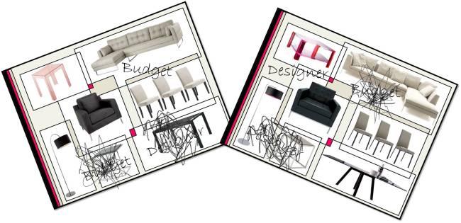 Budget v Designer