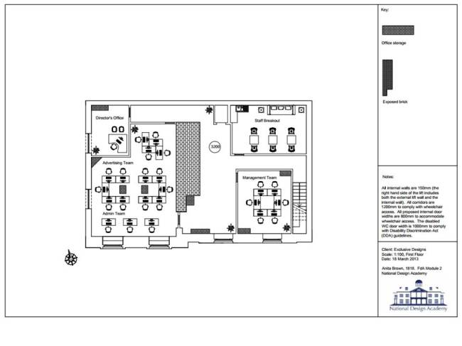 Final Floor Plan - First Floor