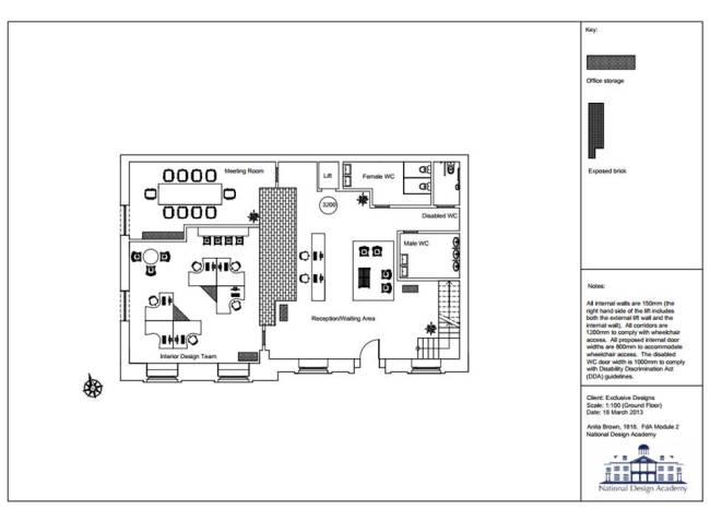 Final Floor Plan - Ground Floor
