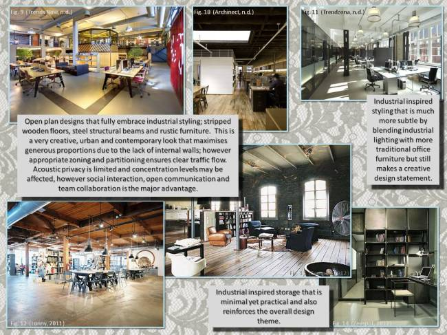 Industrial Office Space - Inspiration
