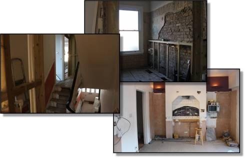 Renovation Pics