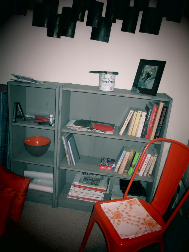 Tolix and Industrial Bookcase
