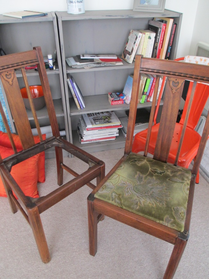Mid Century Chairs Pre-Transformation
