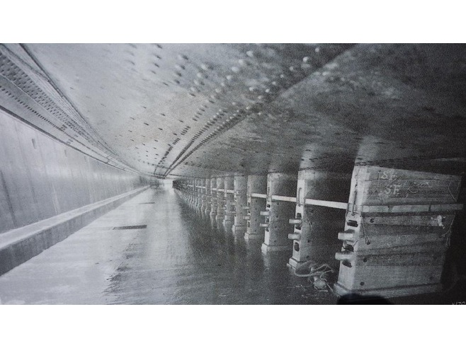 Titanic in Thompson Dry Dock 3