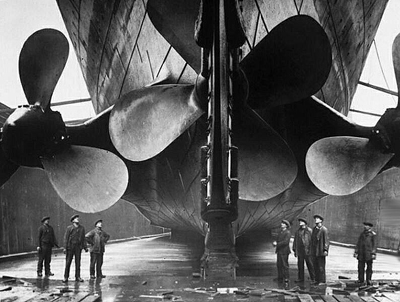 Titanic in Thompson Dry Dock