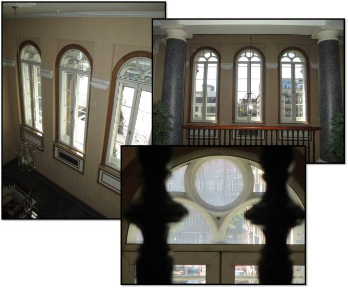 Windows at Rear Custom House
