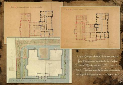 Victorian Floor Plans - Belfast Harbour Office 2