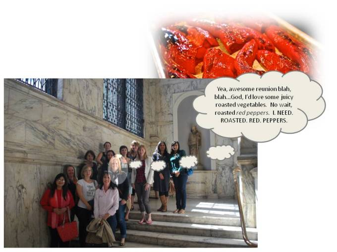 Roasted Red Pepper Craving