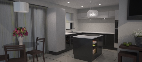 3D Visual - Kitchen 1