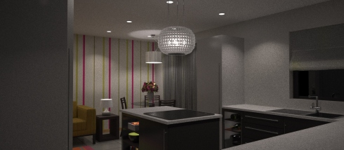 3D Visual - Kitchen 2