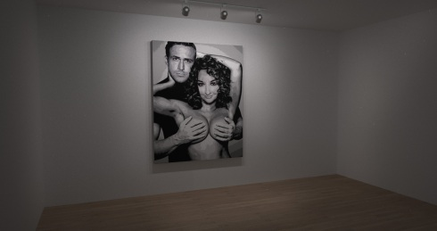 Art Gallery - Ryan Gosling - Photoshop Dating - Anita Brown Design Studio