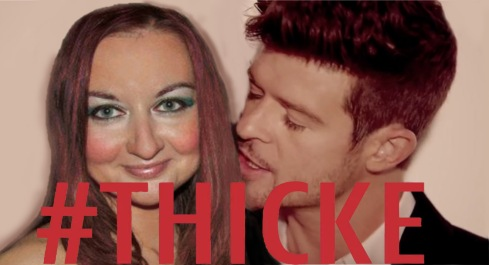 Photoshop Dating - Robin Thicke - Anita Brown Design Studio