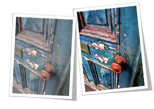 Distressed Door - Photoshop