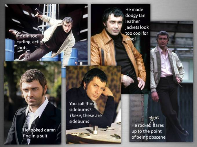 Lewis Collins - The Professionals - Anita Brown Design Studio