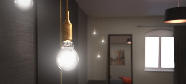 Hanging Bulb colour