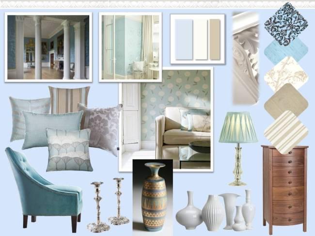 Historical Colour Scheme Interior Design