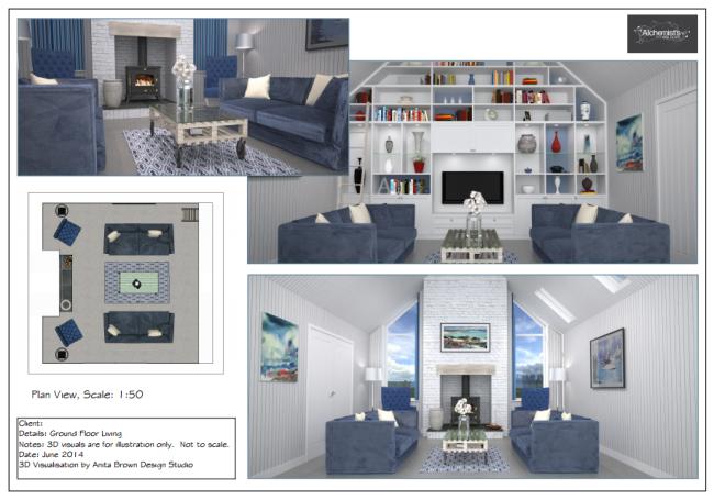 3D Visualisation - Interior Design