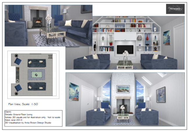 3D Visualisation - Interior Design