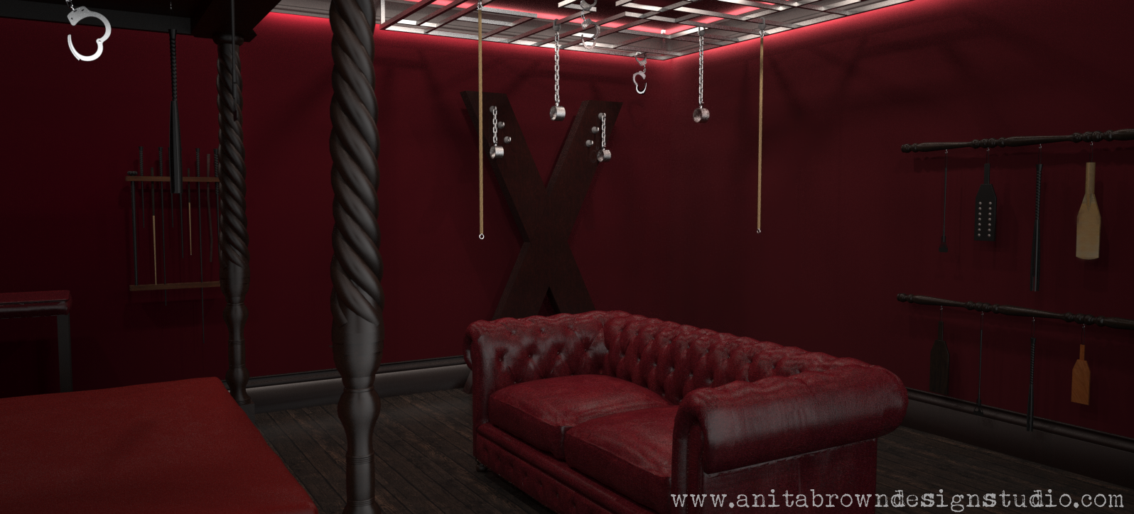 Fifty Shades Of Grey Saucy 3d Visuals Anita Brown 3d Visualisation