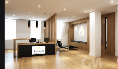 Reception Area 3D Visual