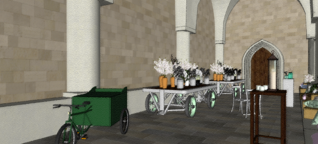 Westminster Abbey_Cloister - 3D Visual 4