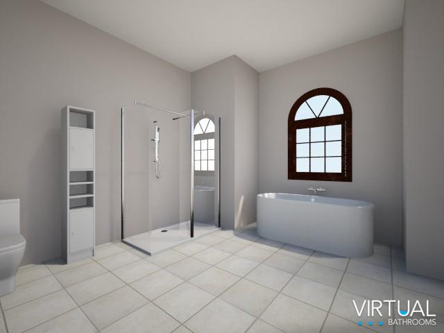 Virtual Bathroom Design Anita Brown 3D Visualisation