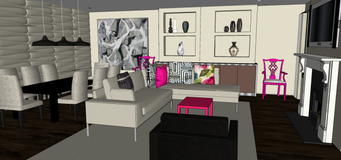First SketchUp 3D model