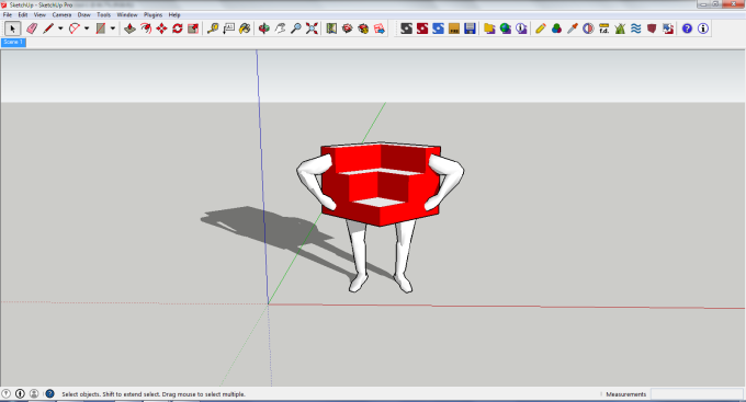The One and OnlySketchUp