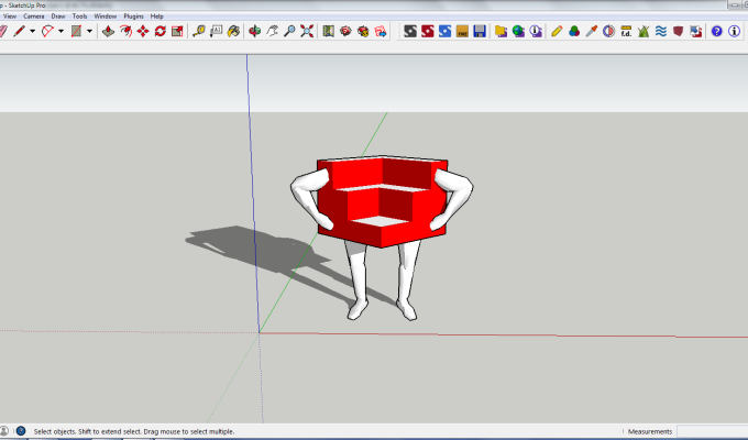 The One and Only SketchUp