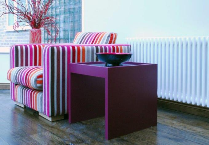 Bespoke Purple Coffee Table