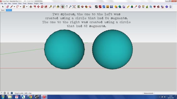 Circle Tool 5 SketchUp