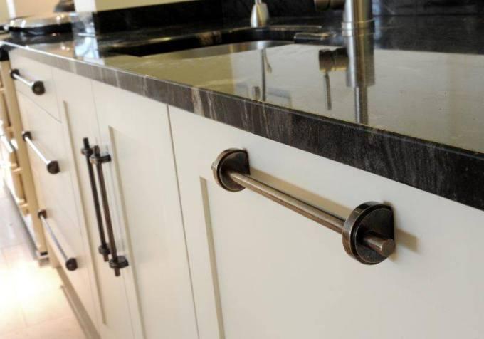 Industrial Style Kitchen Handles