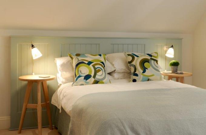 Shaker Headboard Bedroom
