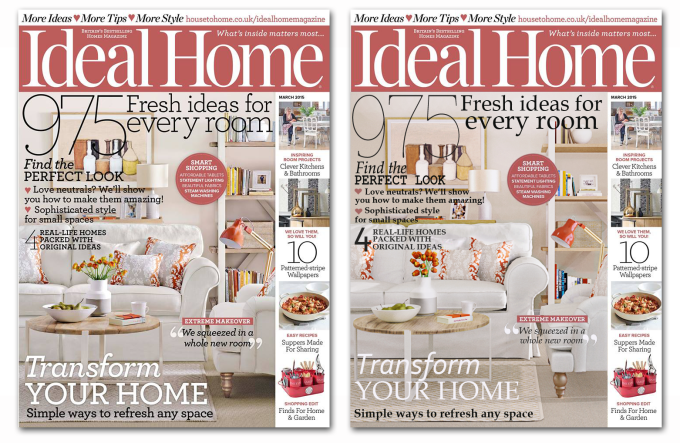 Ideal Home Magazine replicated by Anita Brown