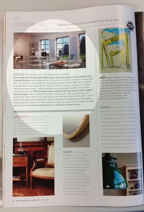 3D Visualisation - Anita Brown Design Studio