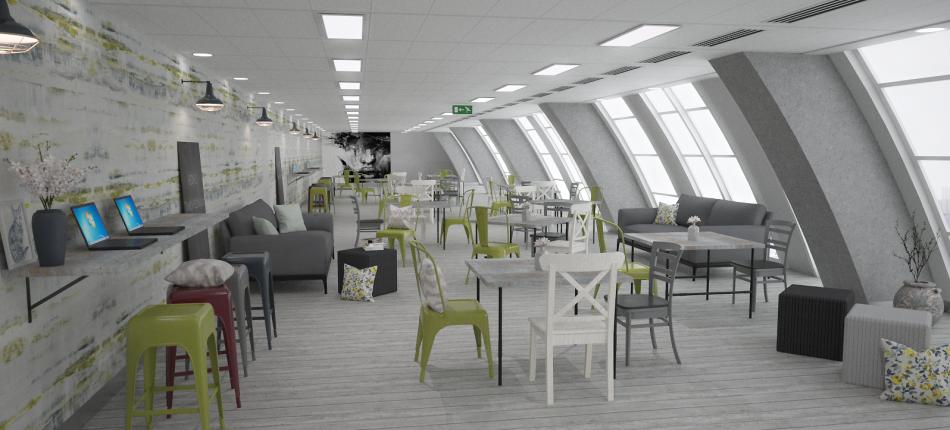 3D Visualisation Office Design Park House Final