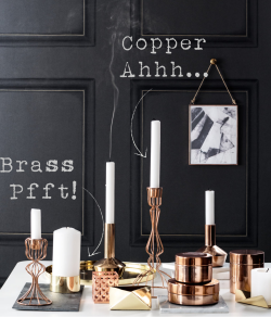 Brass_Copper Interior Design
