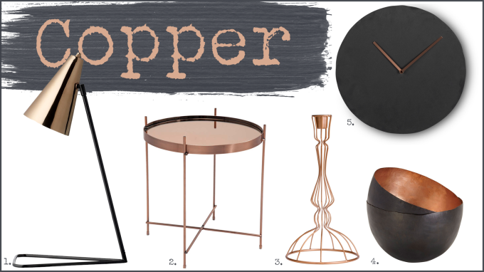 Copper Interior Design
