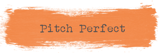 Event Design Pitch Perfect