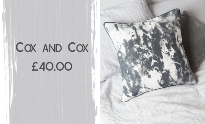 Cox and Cox Painterly Cushion