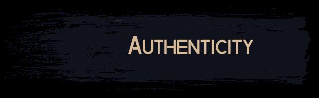 Authenticity 3D Visualisation