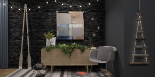 Christmas Interiors: UrbanStyle!