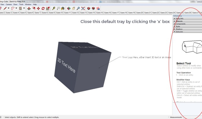 3D Rotating Cube Project Files and Tutorial