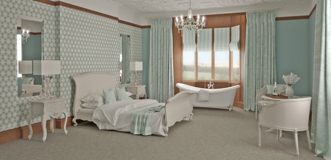 Bridal Suite 3D Visualisation