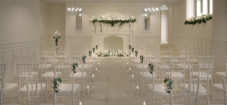 Tyn Dwr Large Wedding Ceremony Room 3D Visualisation