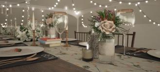 Spring Wedding 3D Visualisation